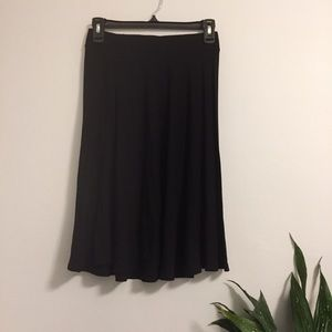 ASOS Perfect black skirt